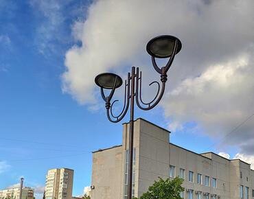 Освещение парка Нетишин, Хмельницкая область