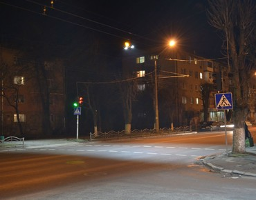 Lutsk, street lighting
