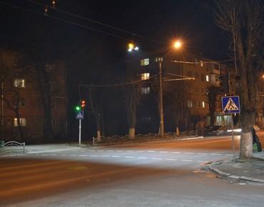Луцк, уличное освещение