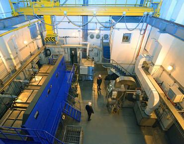 РАЭС. Освещение центра по переработке радиоактивных отходов