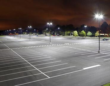 Lighting of parking lots