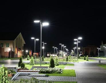 Консольні світильники для освітлення вулиць