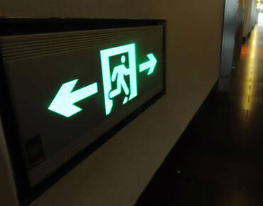 Норми евакуаційного освітлення