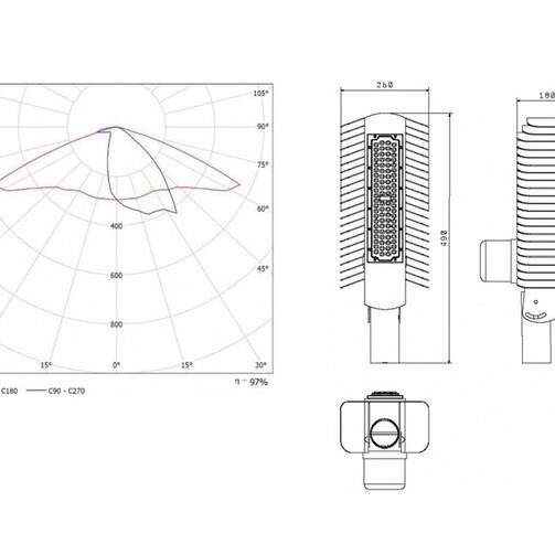 SSU05U - «CITY»/«CITY+NEMA 7» with controllability