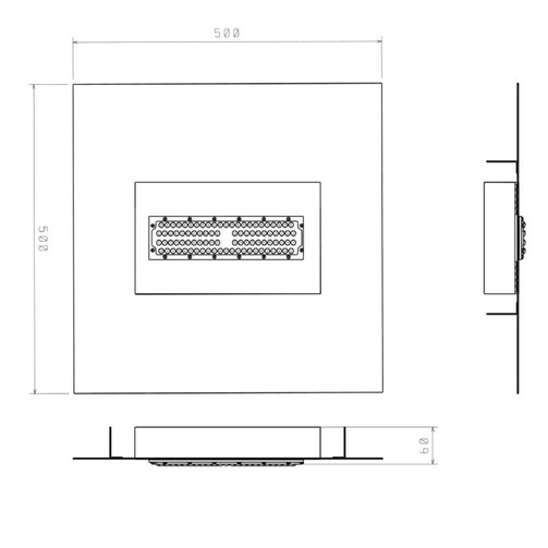 Светильник светодиодный ДСУ05У АЗС для освещения на автозаправке