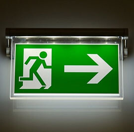 Emergency and evacuation lighting