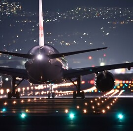 Airfields and runways lighting