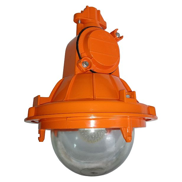 Explosion-proof LED lamp of protection level 2Exhn